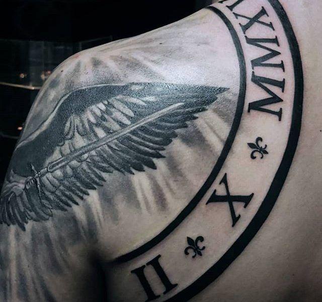 tattoo numeros romanos
