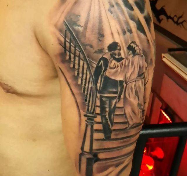 tatuaje religioso
