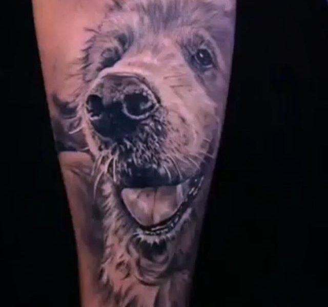tatuaje oso