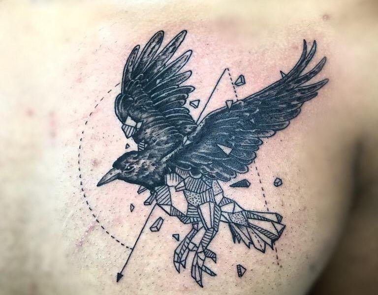 tatuaje geometrico