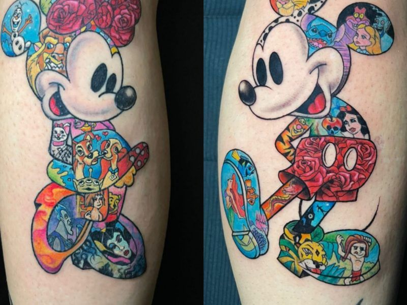 Mikey y Miney Disney