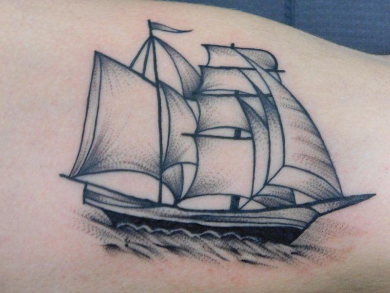 tatiajes barcos