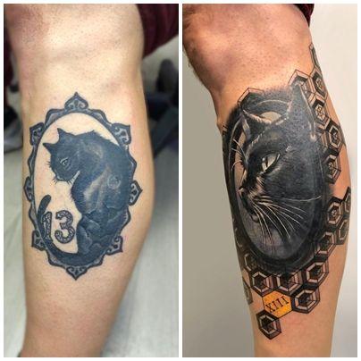 Tattoo tapado en Madrid