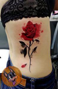 Tatuajes watercolor en Madrid