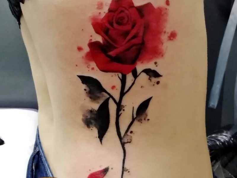 Tatuajes watercolor en Madrid