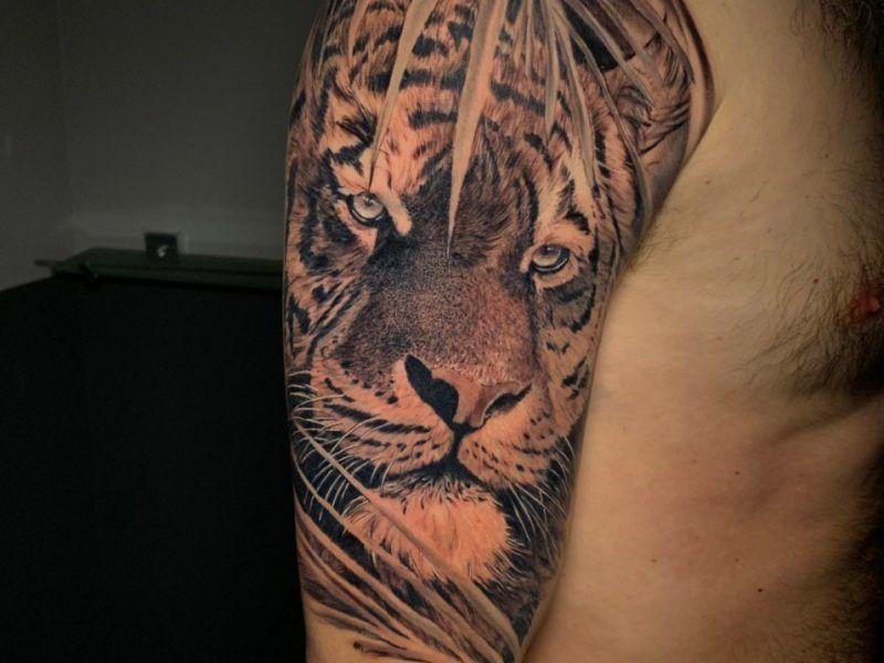 tatuajes tigres