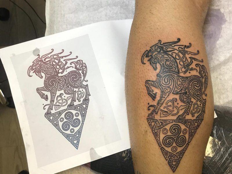 tatuaje celta