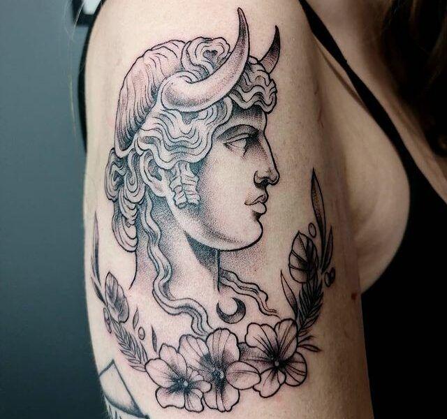 tatuajes puntillismo de arrastre