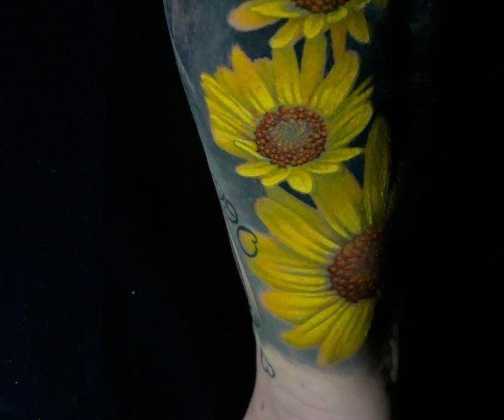 tatuajes de flres realistas