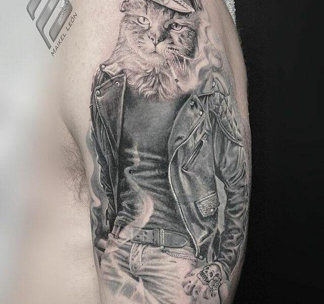 realismo tattoo mascotas