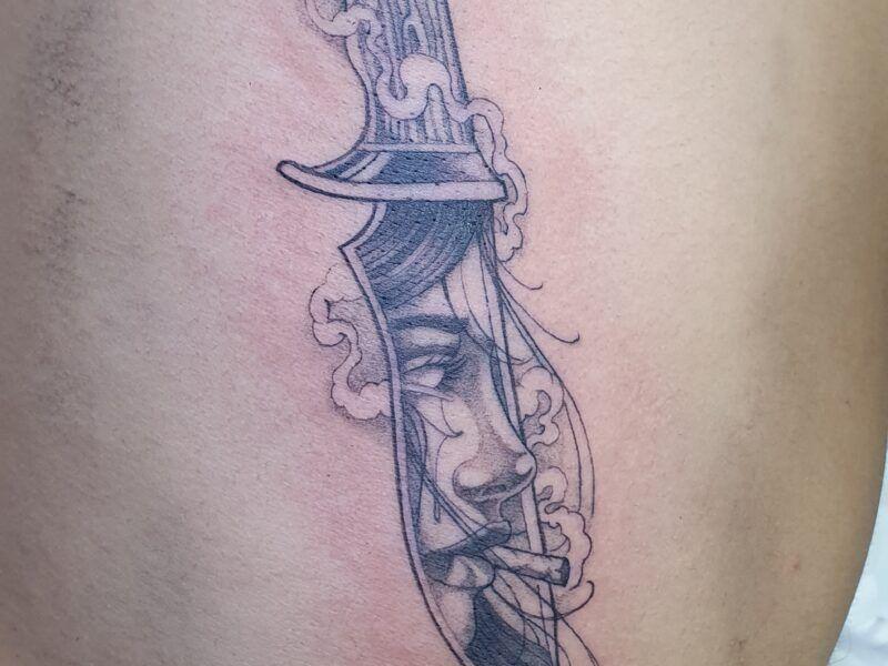 Black tattoos en Madrid