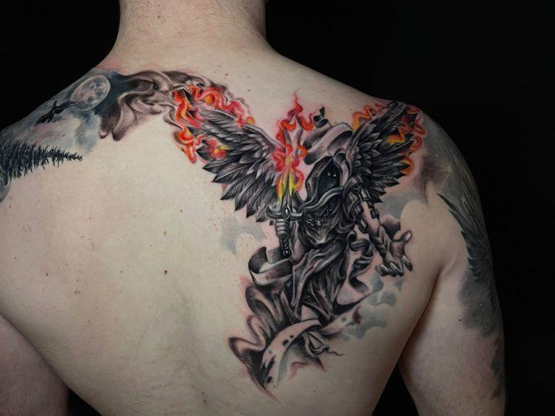 neotradicional tattoo