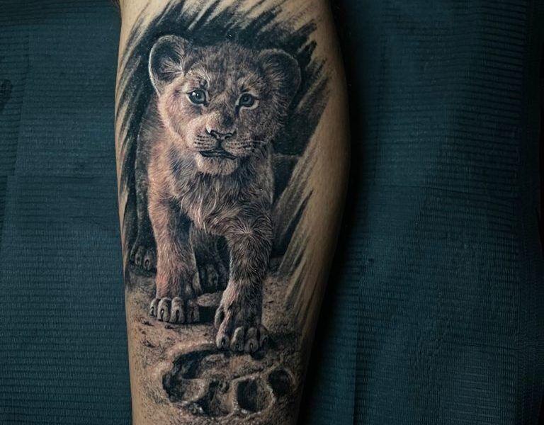 Leon realismo tattoo