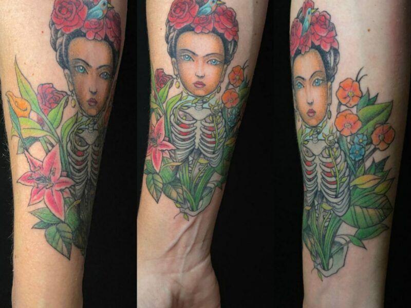 tatuajes de Frida