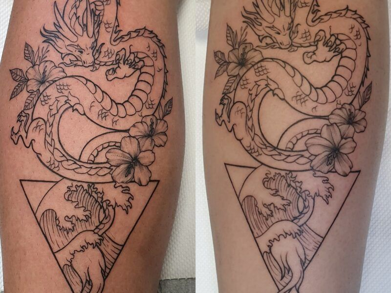 tatuaje dragon