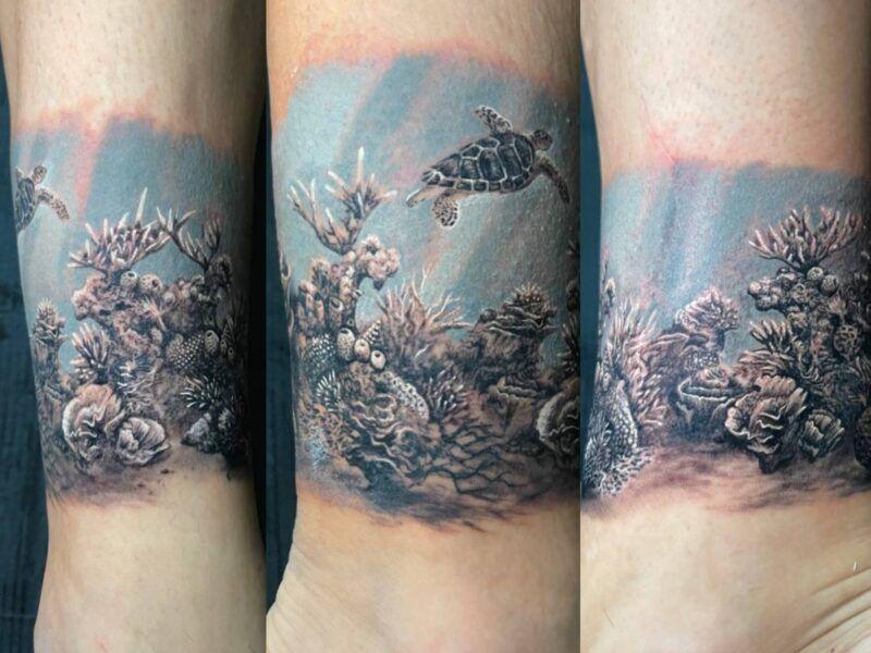 tatuaje realista color