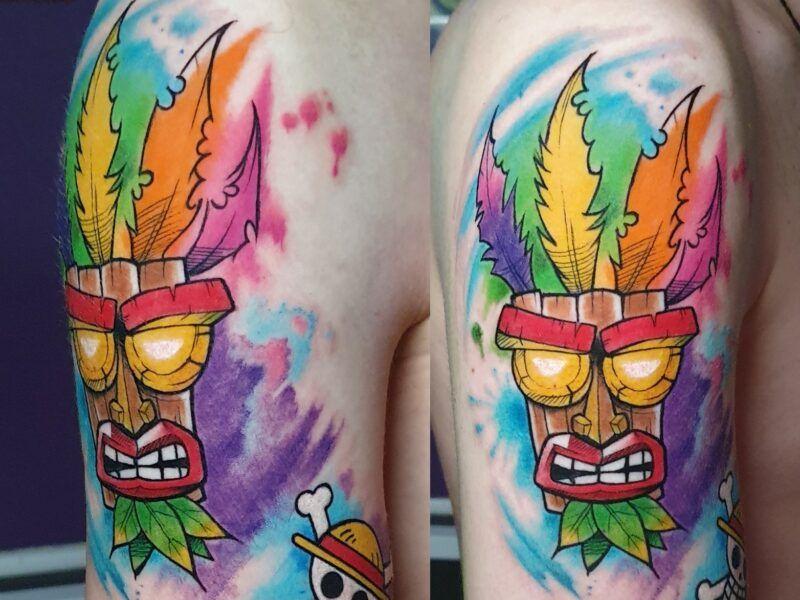 tatuajes watercolor tattoo