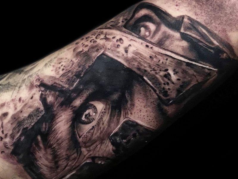 espartano realismo tattoo