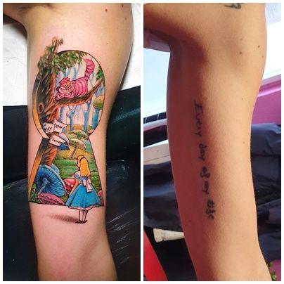 alicia tatuaje color